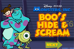 Boo hide and scream