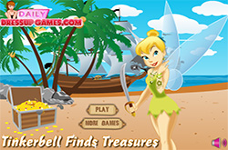 Tinkerbell dress-up